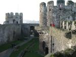 Conwy Castle Bailey